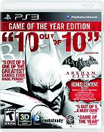 batman arkham city game of the year photo