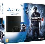 playstation 4 console 1tb black uncharted 4 photo