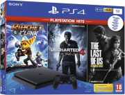 PLAYSTATION 4 CONSOLE 1TB & RACHET & CLANK & THE LAST OF US REMASTER ηλεκτρονικά παιχνίδια   playstation 4 consoles