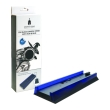 spartan gear console vertical stand black with hub blue light photo
