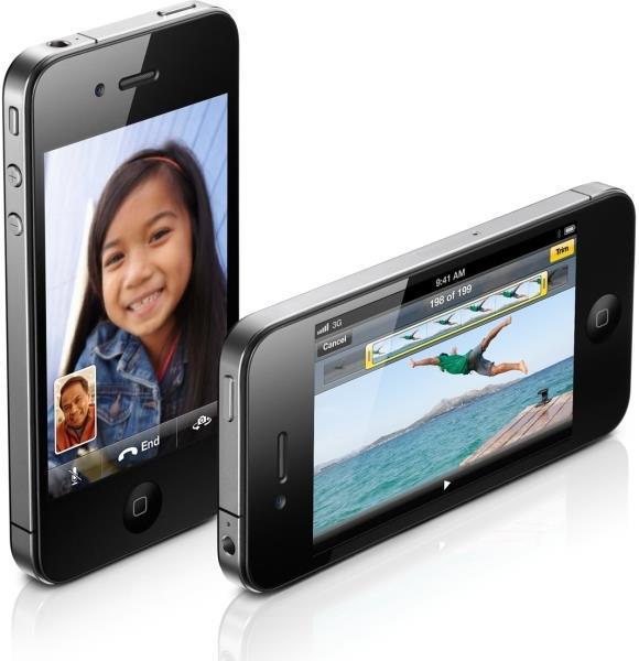 Apple iPhone 4 16GB Μαύρο (Σφραγισμένο-1χρ. εγγύηση)