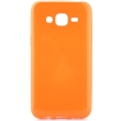jelly case flash for samsung galaxy j5 orange fluo photo