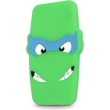 greengo silicon 3d back cover case ninja for apple iphone 6 green 5900495408419 photo