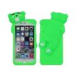 greengo silicon 3d back cover case mr bear for sony xperia m4 aqua green 5900495450760 photo
