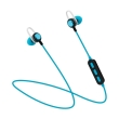 platinet pm1068bl in ear bluetooth sport earphones mic blue photo