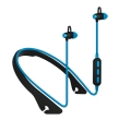platinet pm1065bl in ear bluetooth sport earphones mic blue photo