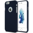 mercury goospery soft feeling logo back cover case iphone 7 8 midnight blue photo