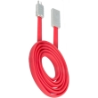 beeyo wave micro usb cable for smartphones red photo