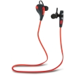 forever bsh 100 bluetooth headset red black photo