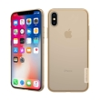 nillkin nature tpu back cover case for apple iphone x brown photo