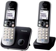 panasonic kx tg 6812 duo black photo