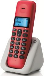 motorola t301 dect cordless phone royal cherry gr photo