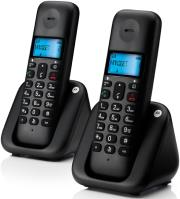 motorola t302 dect gap dual cordless phone gr photo