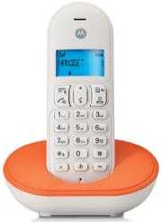 motorola t101o dect cordless phone orange gr photo