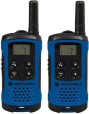 motorola tlkr t41 walkie talkie blue photo