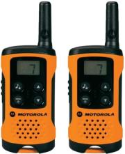 motorola tlkr t41 walkie talkie orange photo