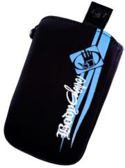 thiki universal body glove magnum black blue fabric photo