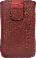leather pouche aniline case red gia sony ericsson w995 photo
