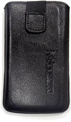 leather pouche aniline case black gia apple iphone 4 photo