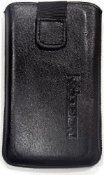 leather pouche aniline case black gia sony ericsson xperia x10 mini photo