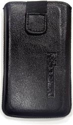 leather pouche aniline case black gia apple iphone 3g 3gs photo