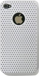 faceplate apple iphone 4 mesh shell white plastic photo