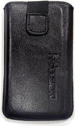 leather pouche aniline case black gia nokia n8 photo