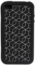 xtrememac tuffwrap tatu iphone 4 black block silicone photo