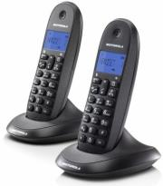 motorola c1002lb twin digital cordless phone photo