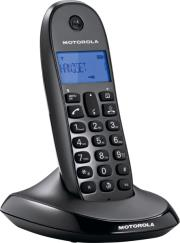motorola c1201 single digital cordless phone photo