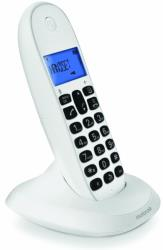 motorola c1001lb dect cordless phone white photo