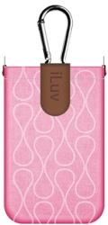 iluv icc750 parasol smart coverup for iphone 4 4s pink plastic photo