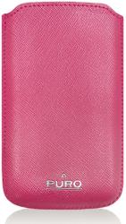 puro slim eco leather case vcprse pink apple photo