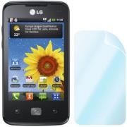 celly screen protector lg e510 optimus hub photo