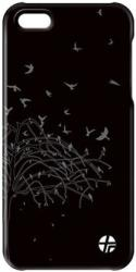 thiki leather trexta apple iphone 5 nature black photo