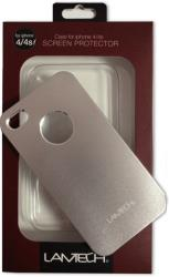 lamtech lam050783 hardcase for iphone 4 4s silver plastic photo