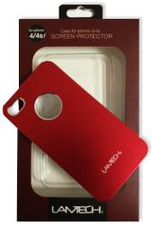 lamtech lam050790 hardcase for iphone 4 4s red plastic photo