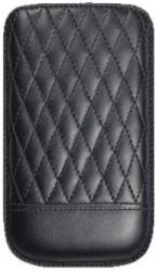 trexta thiki leather samsung galaxy s ii capi black photo