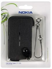 nokia case cp 506 for e5 black fabric photo