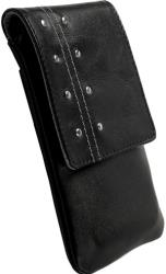 krusell kalix mobile case black leather universal photo