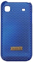 samsung faceplate cool case for galaxy s blue photo
