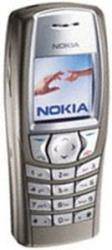 nokia 6610 batterycover silver grey photo