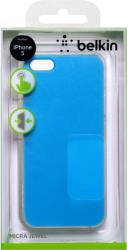 belkin f8w300vfc01 cover shield gia iphone 5 transparent ultra thin light blue photo