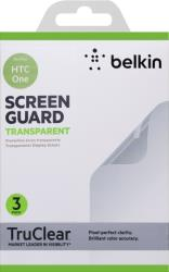 belkin f8m578vf3 screen overlay gia htc one transparent 3pcs photo
