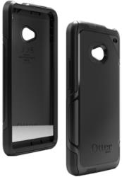 otterbox defender series htc one case black silicone photo