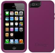 otterbox prefix series iphone 5 case pop purple black silicone photo