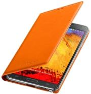 samsung flip case leather ef wn900 for galaxy note 3 n9000 n9005 orange photo
