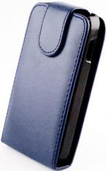 leather case for nokia 620 blue photo