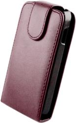 leather case for samsung i9500 galaxy s4 purple photo