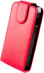 leather case for samsung i9500 galaxy s4 red photo